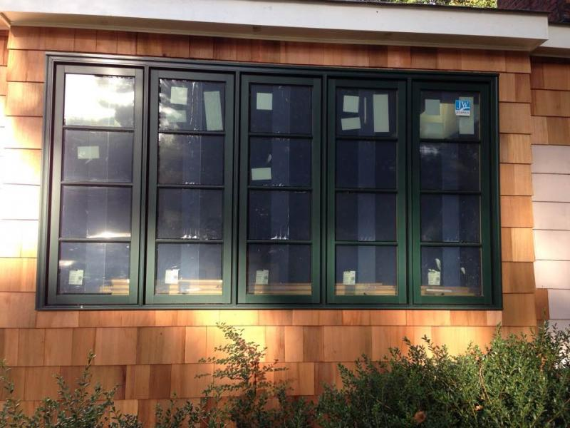 What a beautiful Clad Wood Window with Simulated Divided Lites.